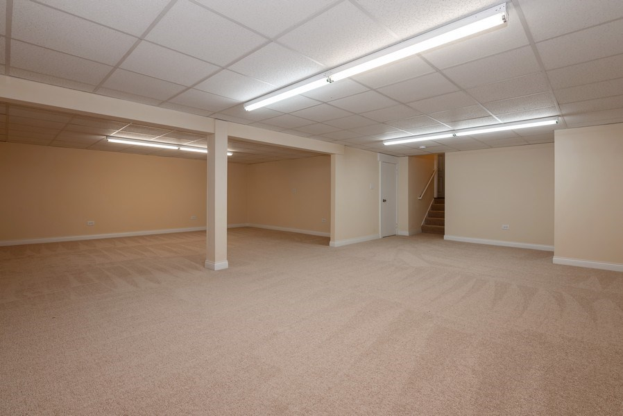 Real Estate Photography - 184 Stonegate Rd, Trout Valley, IL, 60013 - Basement