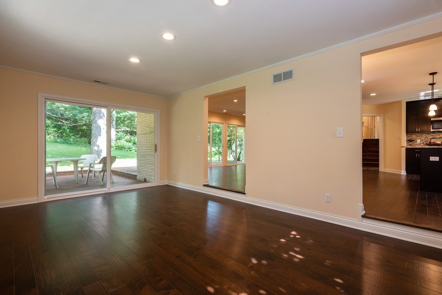 Real Estate Photography - 184 Stonegate Rd, Trout Valley, IL, 60013 - Family Room