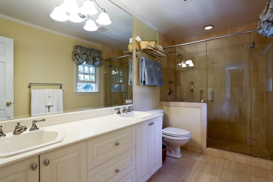 Real Estate Photography - 290 North Street, Rye, NY, 10580 - Master Bathroom