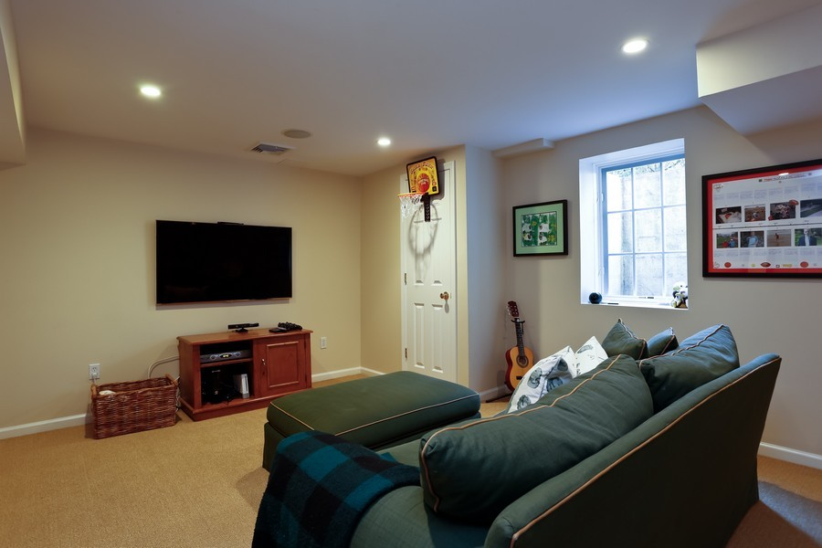 Real Estate Photography - 290 North Street, Rye, NY, 10580 - Lower Level