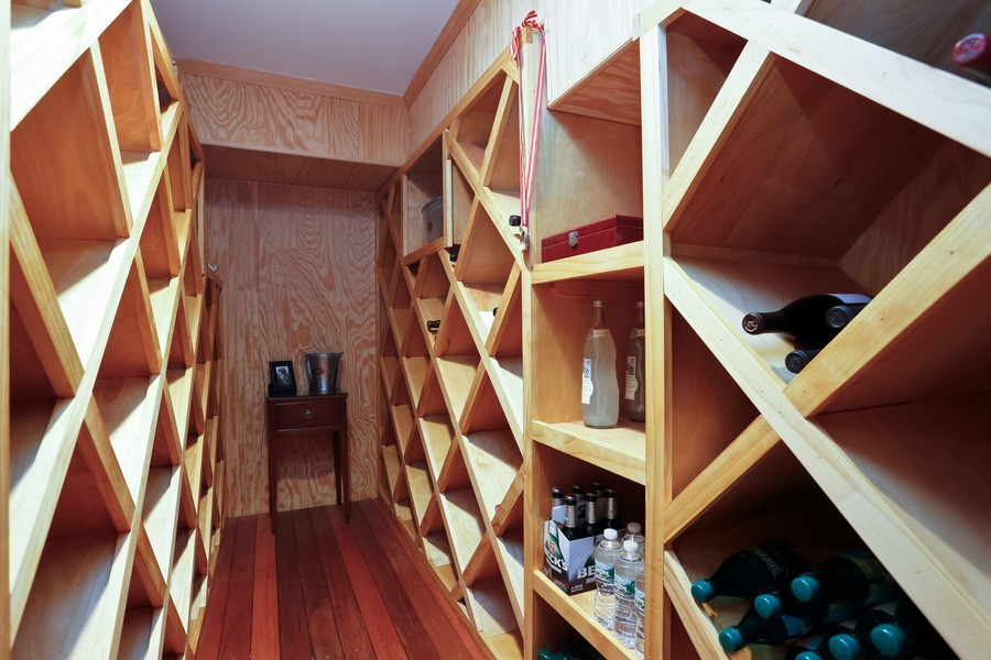 Real Estate Photography - 290 North Street, Rye, NY, 10580 - Wine Cellar