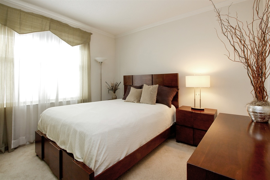 Real Estate Photography - 300 Mamaroneck Avenue #423, White Plains, NY, 10605 - Bedroom