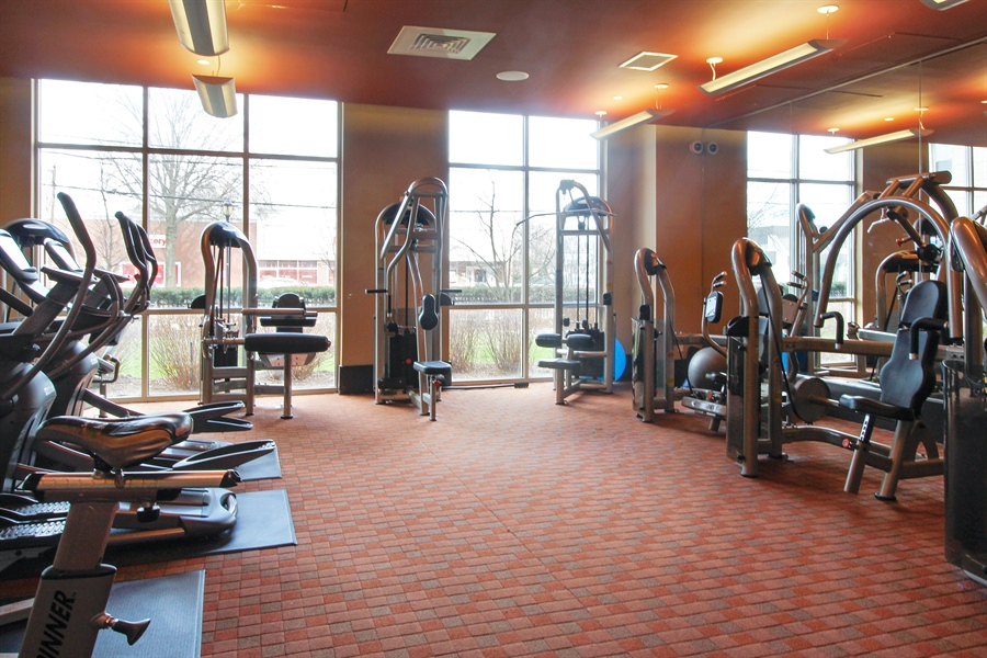Real Estate Photography - 300 Mamaroneck Avenue #423, White Plains, NY, 10605 - Fitness Center