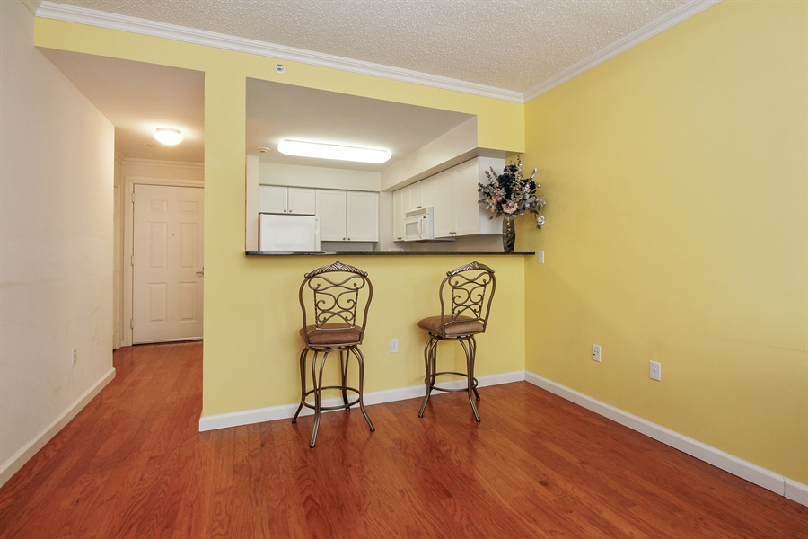 Real Estate Photography - 300 Mamaroneck Avenue #423, White Plains, NY, 10605 - Breakfast Bar/Room for Dining Table