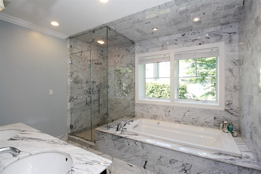 Real Estate Photography - 52 Truesdale Dr, Croton on Hudson, NY, 10520 - Master Bathroom