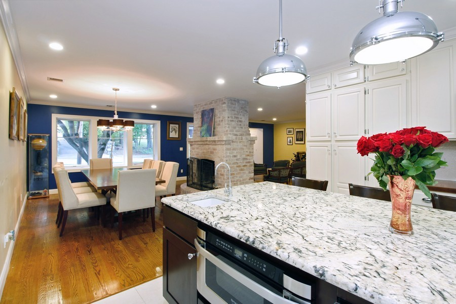 Real Estate Photography - 52 Truesdale Dr, Croton on Hudson, NY, 10520 - Kitchen / Dining Room