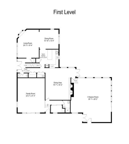 Real Estate Photography - 830 Kipling Dr, Yorktown Heights, NY, 10598 - Floor Plan