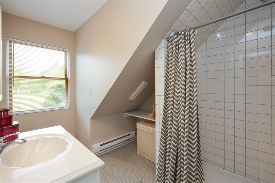 Real Estate Photography - 830 Kipling Dr, Yorktown Heights, NY, 10598 - Guest House Bathroom