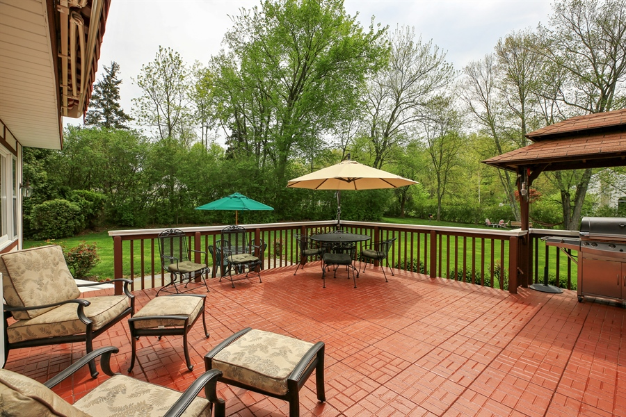 Real Estate Photography - 830 Kipling Dr, Yorktown Heights, NY, 10598 - Deck