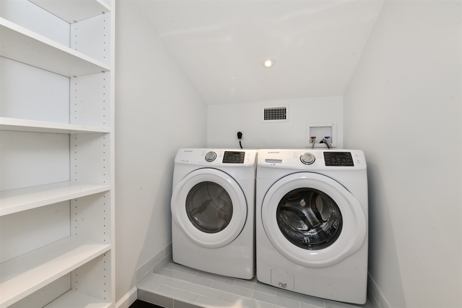 Real Estate Photography - 84 Woodland Rd, Pleasantville, NY, 10570 - Laundry Room