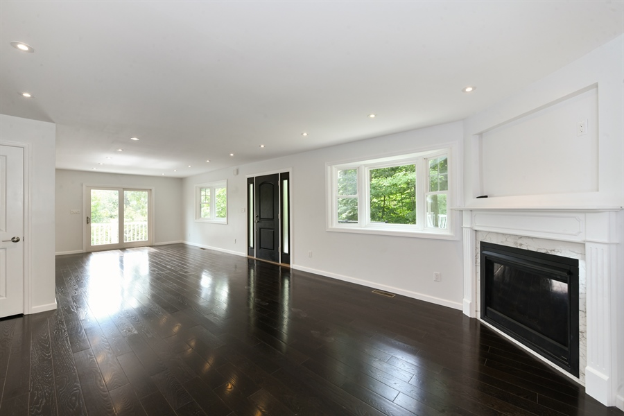 Real Estate Photography - 84 Woodland Rd, Pleasantville, NY, 10570 - Living Room/Dining Room