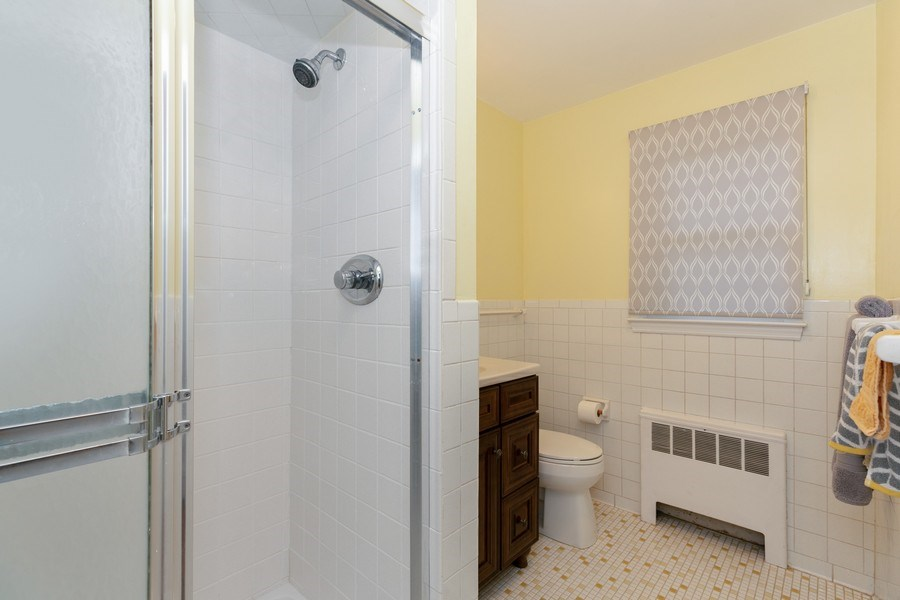 Real Estate Photography - 210 Belmont Rd, Hawthorne, NY, 10532 - Master Bathroom