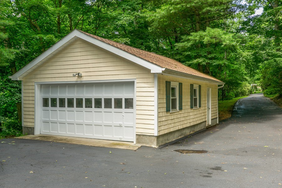 Real Estate Photography - 210 Belmont Rd, Hawthorne, NY, 10532 - Detached Garage