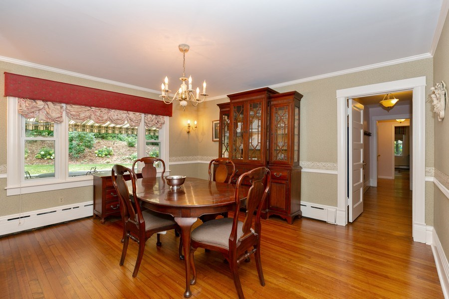 Real Estate Photography - 210 Belmont Rd, Hawthorne, NY, 10532 - Dining Room