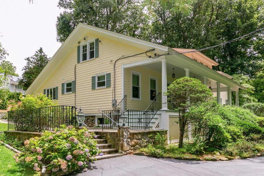 Real Estate Photography - 210 Belmont Rd, Hawthorne, NY, 10532 - Front View