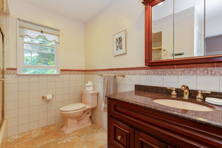 Real Estate Photography - 210 Belmont Rd, Hawthorne, NY, 10532 - Bathroom #3