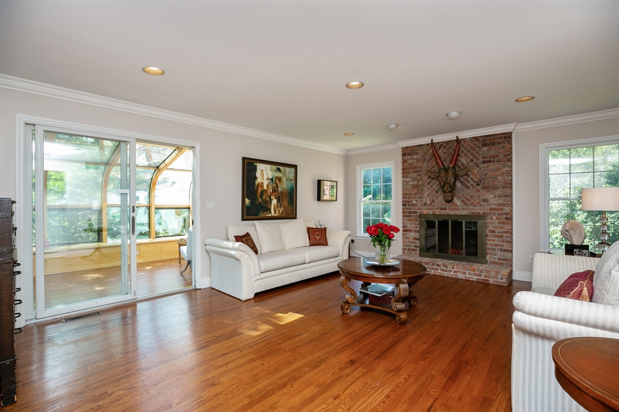 Real Estate Photography - 96 Deerfield Lane N, Pleasantville, NY, 10570 - Family Room