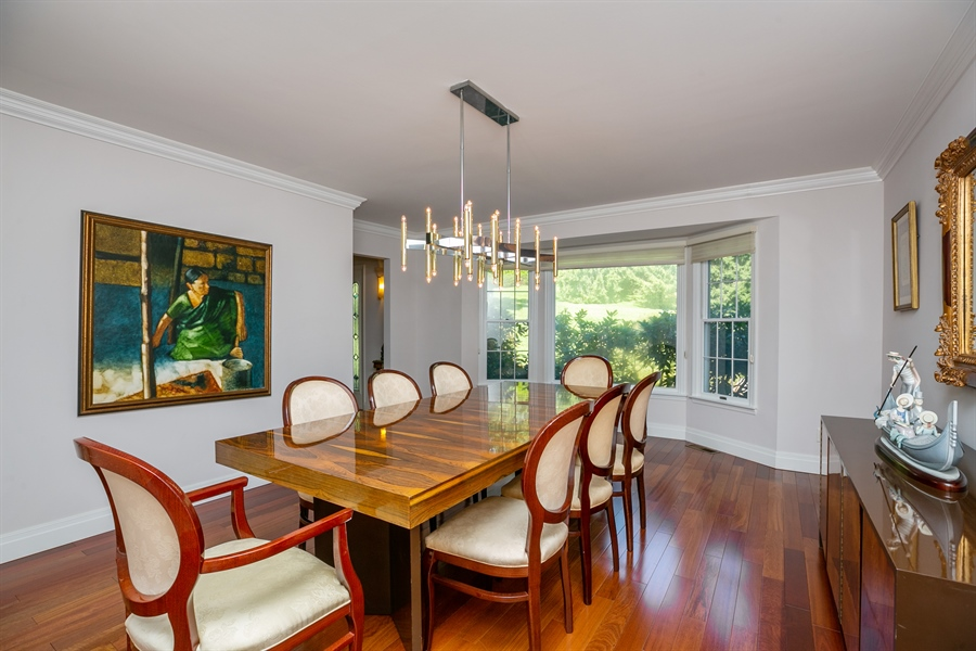 Real Estate Photography - 96 Deerfield Lane N, Pleasantville, NY, 10570 - Dining Room