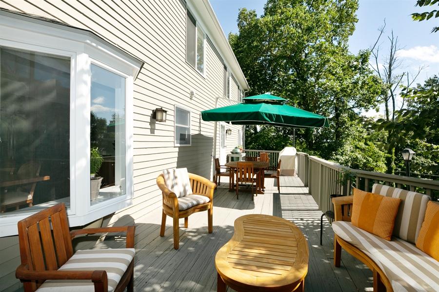 Real Estate Photography - 96 Deerfield Lane N, Pleasantville, NY, 10570 - Deck