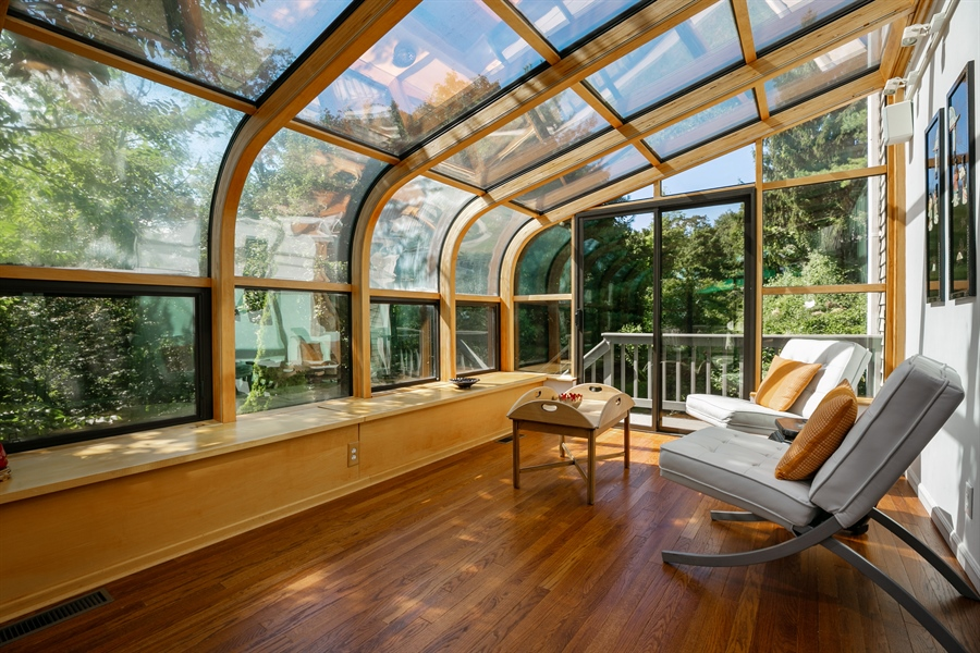 Real Estate Photography - 96 Deerfield Lane N, Pleasantville, NY, 10570 - Sun Room