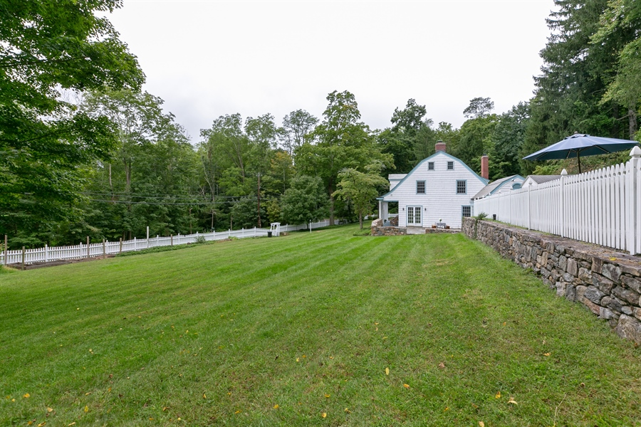 Real Estate Photography - 160 Crow Hill Rd, Bedford Corners, NY, 10549 - Side Yard