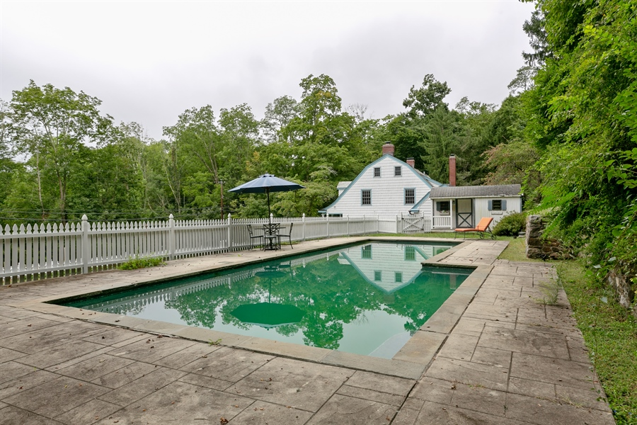 Real Estate Photography - 160 Crow Hill Rd, Bedford Corners, NY, 10549 - Pool