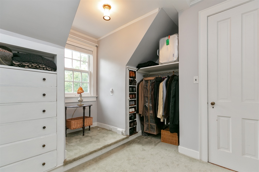 Real Estate Photography - 160 Crow Hill Rd, Bedford Corners, NY, 10549 - Master Bedroom Closet