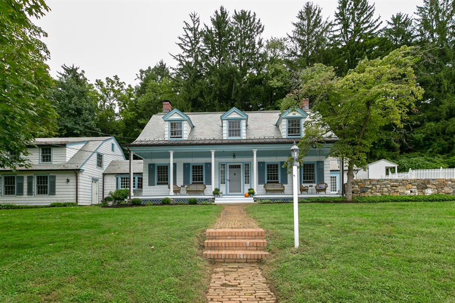 Real Estate Photography - 160 Crow Hill Rd, Bedford Corners, NY, 10549 - Front View