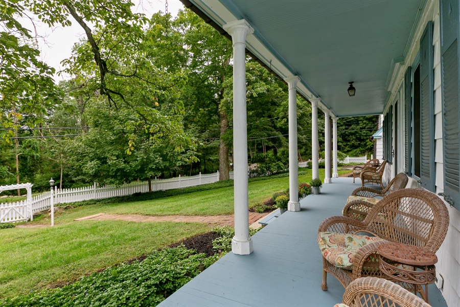 Real Estate Photography - 160 Crow Hill Rd, Bedford Corners, NY, 10549 - Porch