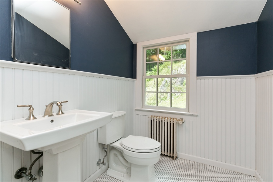 Real Estate Photography - 160 Crow Hill Rd, Bedford Corners, NY, 10549 - 2nd Bathroom