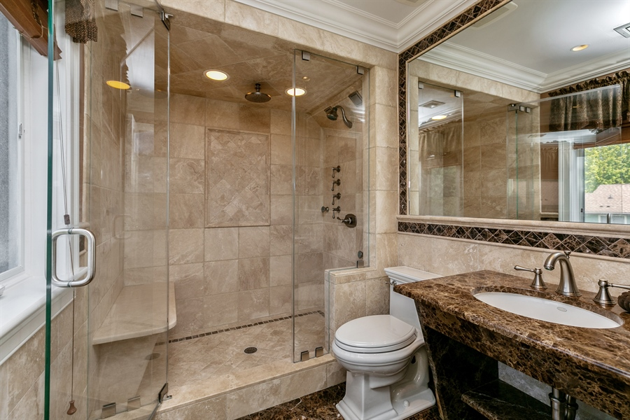 Real Estate Photography - 86 Krystal Drive, Somers, NY, 10589 - Master Bathroom