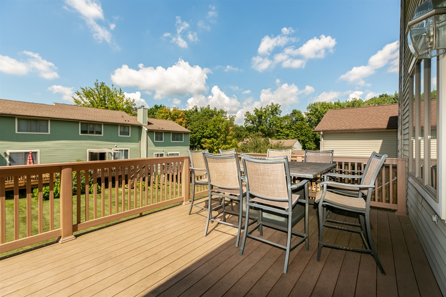 Real Estate Photography - 86 Krystal Drive, Somers, NY, 10589 - Deck