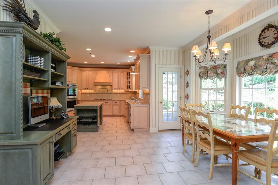 Real Estate Photography - 52 Hog Hill Road, Chappaqua, NY, 10514 - Kitchen w/Breakfast Area