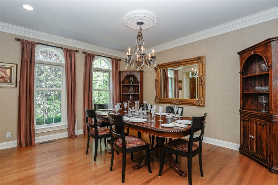 Real Estate Photography - 52 Hog Hill Road, Chappaqua, NY, 10514 - Formal Dining Room
