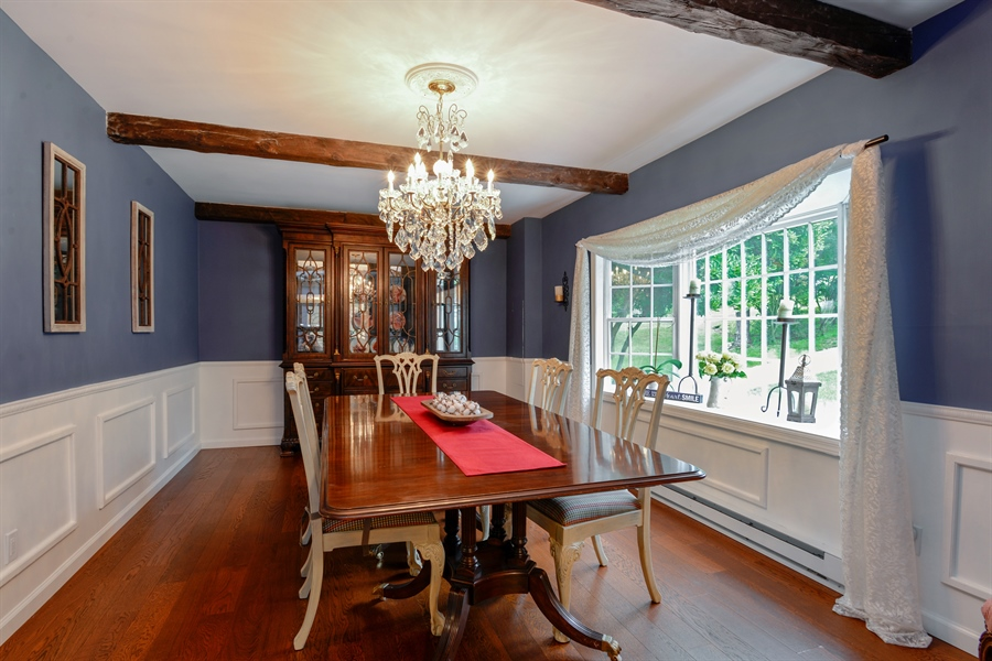 Real Estate Photography - 11 west meadow, Goldens Bridge, NY, 10526 - Spacious dining room