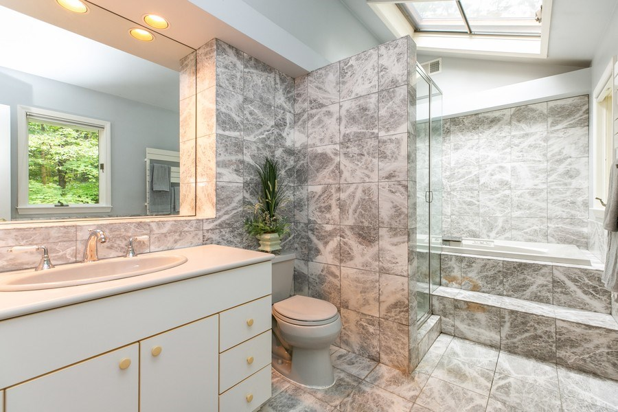 Real Estate Photography - 15 Surrey Lane, Ossining, NY, 10562 - Master Bathroom