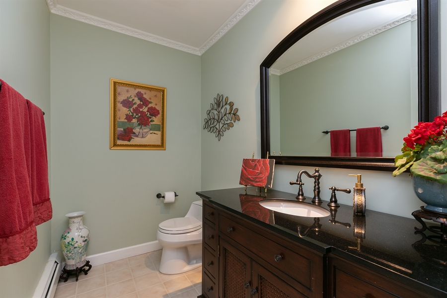 Real Estate Photography - 5 Elizabeth Ct, Briarcliff Manor, NY, 10510 - Powder Room