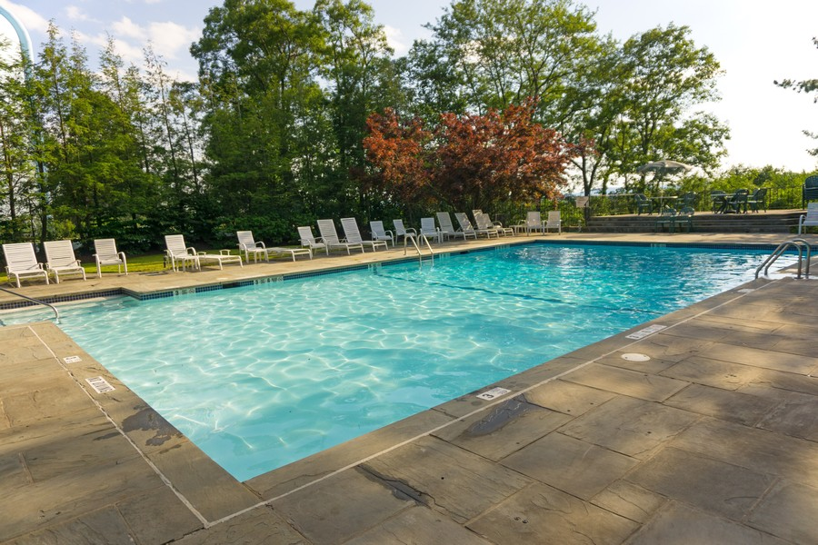 Real Estate Photography - 5 Elizabeth Ct, Briarcliff Manor, NY, 10510 - Rosecliff Pool