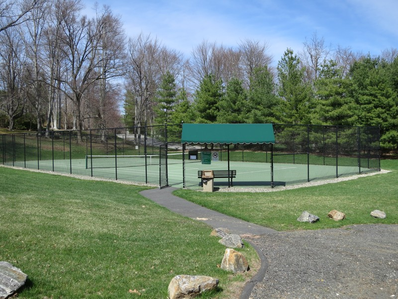 Real Estate Photography - 5 Elizabeth Ct, Briarcliff Manor, NY, 10510 - Rosecliff All-Season Tennis Court