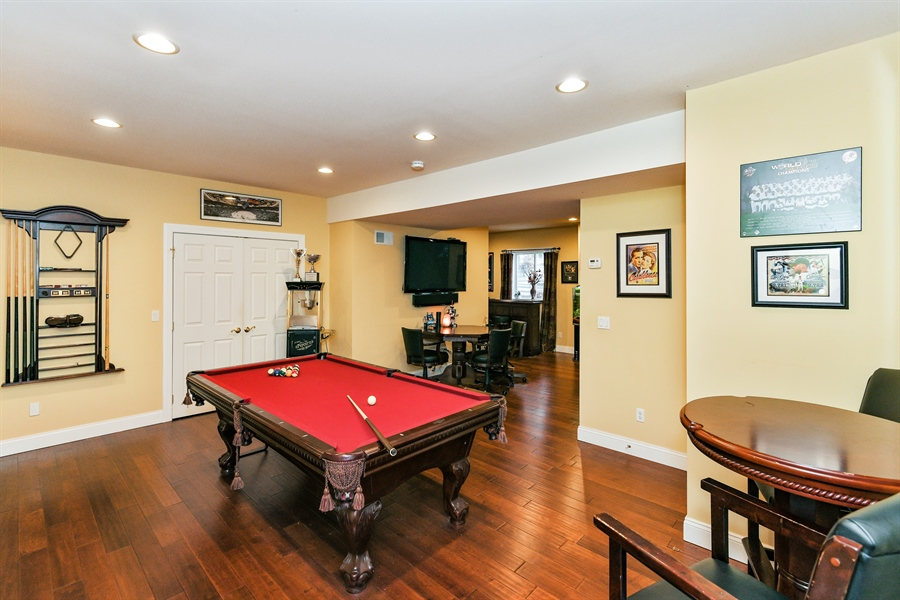 Real Estate Photography - 6 Amato Dr East (aka Michael J. Amato Dr, Cortlandt Manor, NY, 10567 - Pool Room