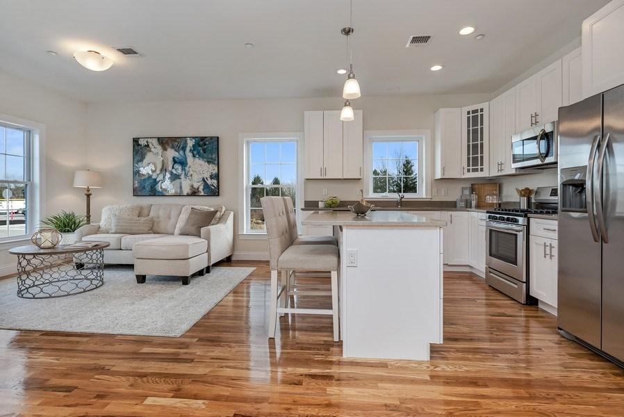 Real Estate Photography - 1102 Pankin Dr, Carmel, NY, 10512 - Family Room / Kitchen