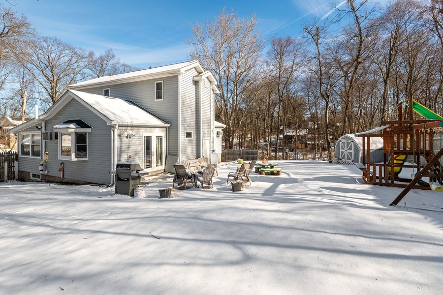 Real Estate Photography - 258 Millington Road, Cortlandt Manor, NY, 10567 - Rear View