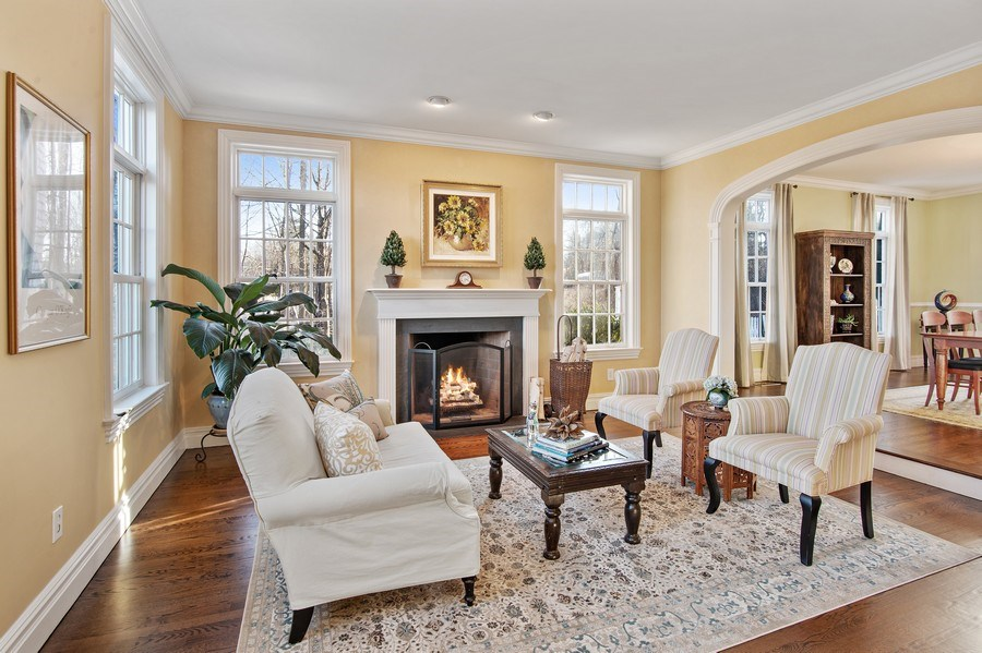 Real Estate Photography - 202 Hirst Rd, Briarcliff Manor, NY, 10510 - Living Room