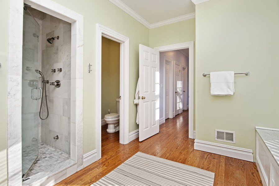 Real Estate Photography - 202 Hirst Rd, Briarcliff Manor, NY, 10510 - Alternate View of Master Bathroom