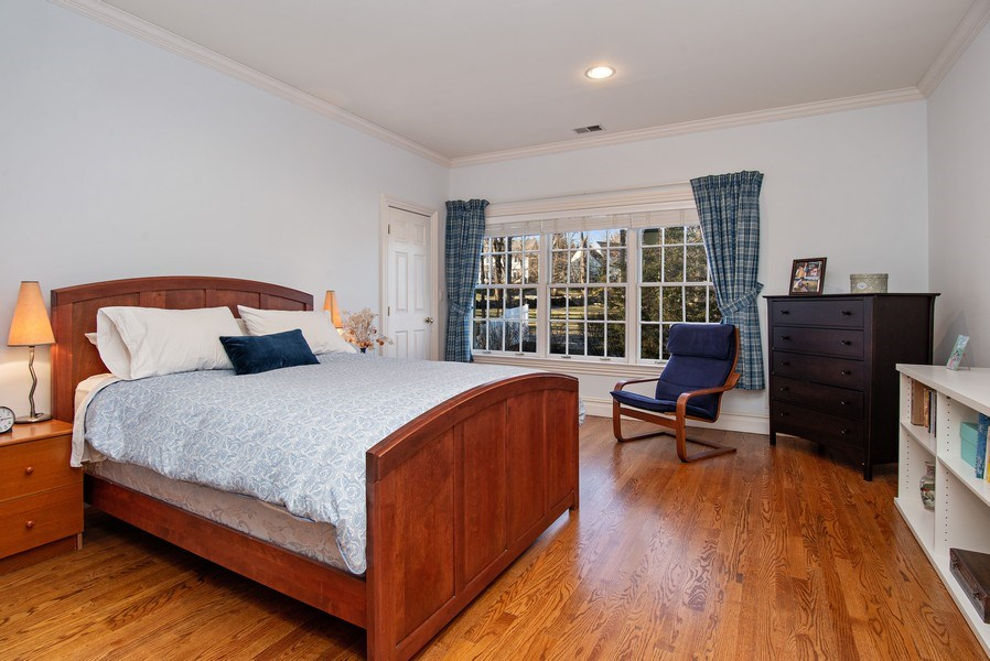 Real Estate Photography - 202 Hirst Rd, Briarcliff Manor, NY, 10510 - Large Third Bedroom with Jack & Jill Bathroom