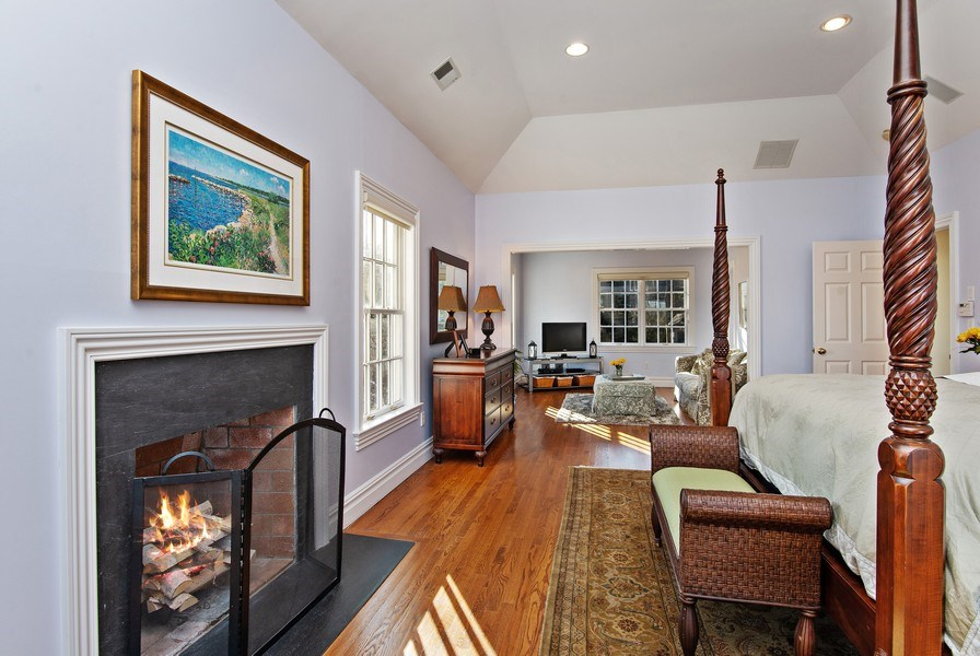 Real Estate Photography - 202 Hirst Rd, Briarcliff Manor, NY, 10510 - View of MBR into private Master Sitting Area