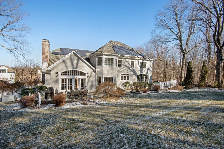 Real Estate Photography - 202 Hirst Rd, Briarcliff Manor, NY, 10510 - Level Backyard. Home Sweet Home at 202 Hirst Rd