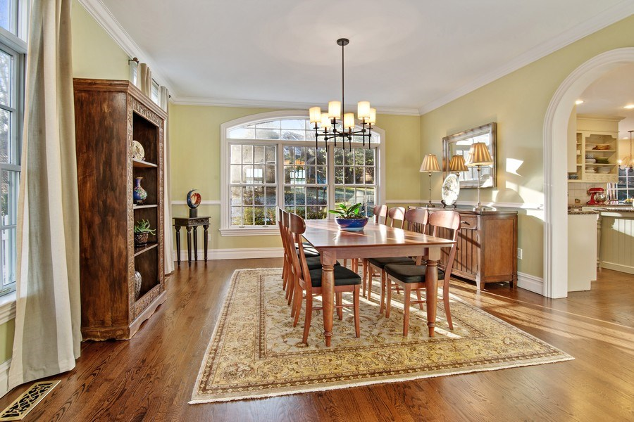 Real Estate Photography - 202 Hirst Rd, Briarcliff Manor, NY, 10510 - Formal Dining Room great for entertaining
