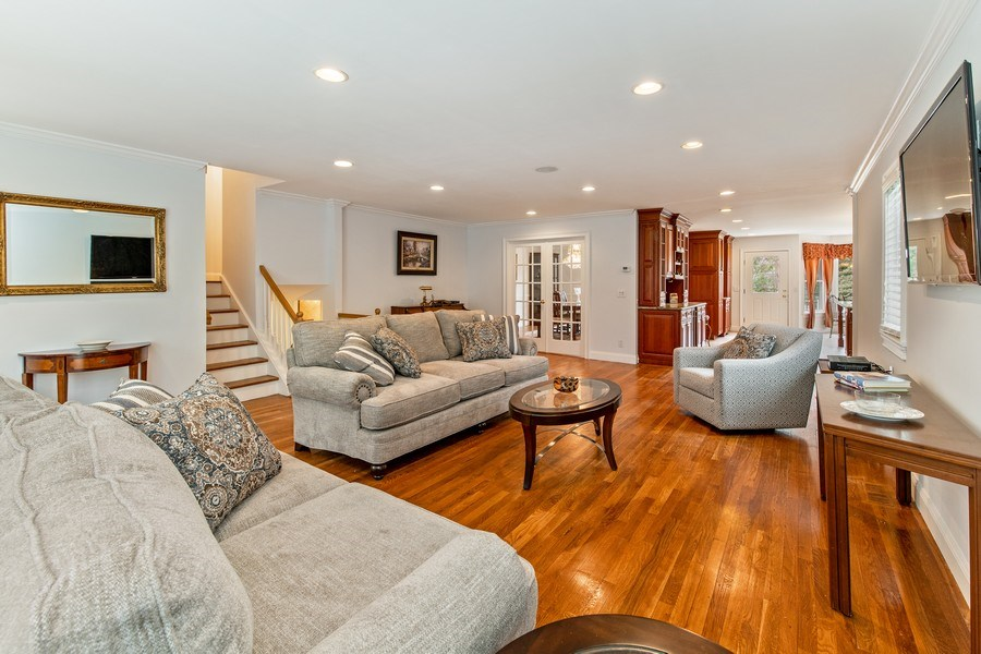 Real Estate Photography - 74 Dogwood Lane, Pleasantville, NY, 10570 - Main Level - Foyer Opens to Living Room