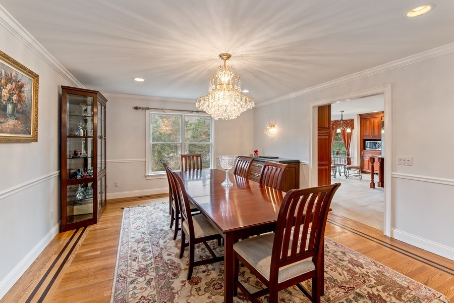 Real Estate Photography - 74 Dogwood Lane, Pleasantville, NY, 10570 - Main Level - Dining Room Opens to Kitchen